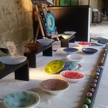 Quelques images de notre expo dans les cloitres…